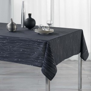 Mantel rectangular (L240 cm) Filiane Gris pizarra