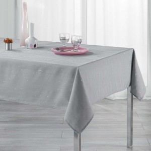 Mantel rectangular (L240 cm) Filiane Gris