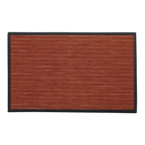 Tapis multi-usage (80 cm) Manoka Rouge tomette