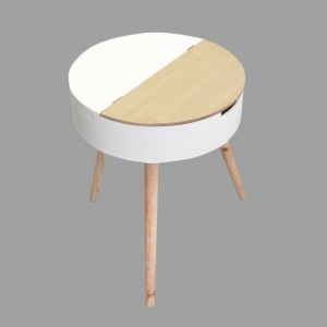 Table coffre Ilyana Blanche