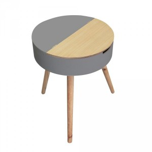Table coffre Ilyana Gris