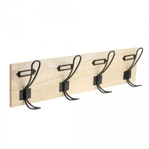 Percha de pared madera Malou Natural