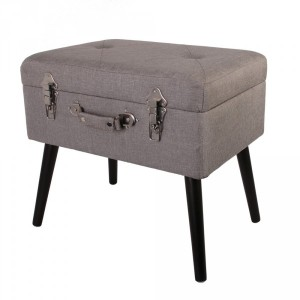 Pouf contenitore Valiseo Beige