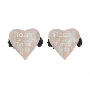 Lot de 2 pinces Amore Naturel