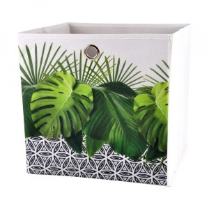 Faltbox (31 x 31 cm) Jungle Grün