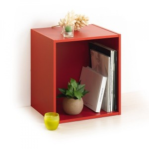 Etagère Homea 1 case Rouge