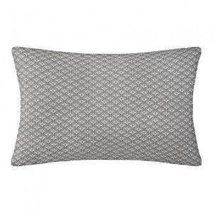 Coussin rectangulaire Paty Gris