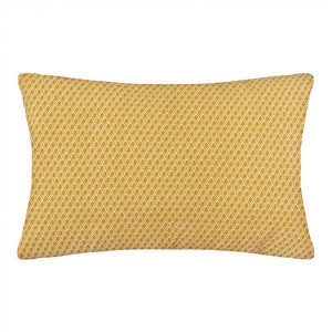 Coussin rectangulaire Otto Jaune ocre