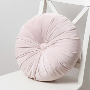 Coussin rond Dolce Rose