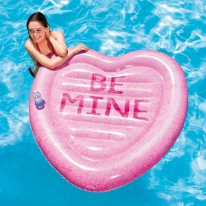 Drijvend eiland Be Mine - Intex