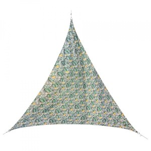 Voile d'ombrage Triangulaire (L3 m) Quito Luxe - Tropical