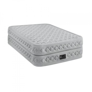 Matelas gonflable électrique Supreme Bed Fiber Tech 2 places - Intex