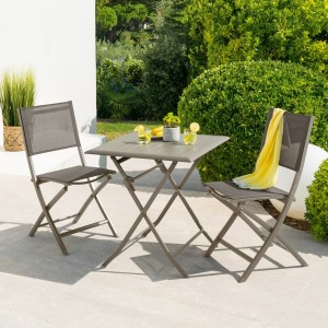 Table de jardin rectangulaire pliante Métal Greensboro (110 x 70 cm ...