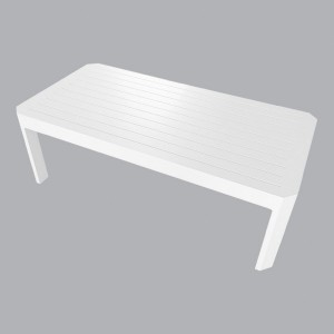 Table basse rectangulaire Ostara - Blanc