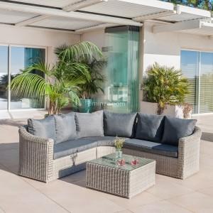 Salon de jardin détente - Salon de jardin, table et chaise - Eminza