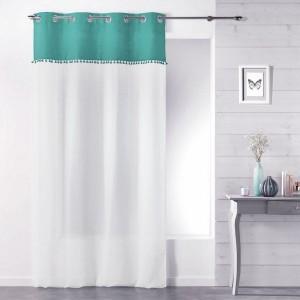 voilage rideau voilage store eminza. Black Bedroom Furniture Sets. Home Design Ideas