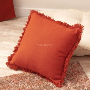 Coussin (40 cm) Prague Rouge terracotta