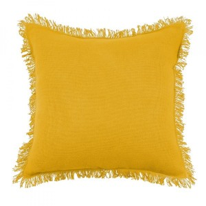 Coussin (40 cm) Prague Jaune moutarde