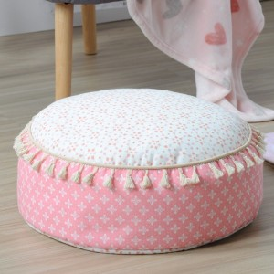 Coussin de sol (D45 cm) Unicorn Dream Rose
