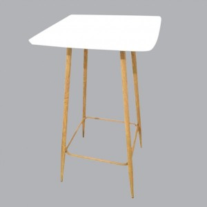 Table de bar Mange Debout Blanc