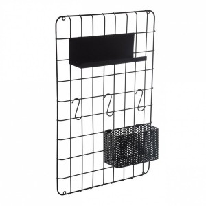Organizador de pared Access Negro