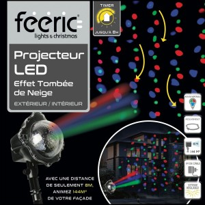 Proiettore  Multicolore 3 LED
