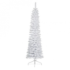 Sapin artificiel de Noël Narrow H180 cm Blanc