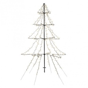 Árbol luminoso Blanco cálido 420 LED