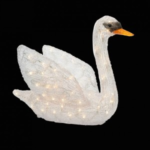 LED Schwan warmweiß 150 LED