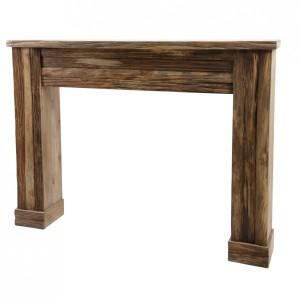 Meuble Console Table En Bois 1 Tiroir Atmosphera Style Romance Coloris Gris Staiindojkt Ac Id