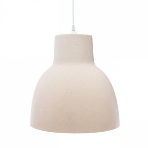 Suspension Beton Blanche