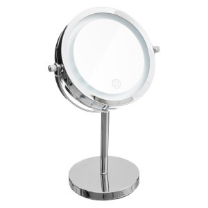 Hoher Kosmetikspiegel LED Chrome