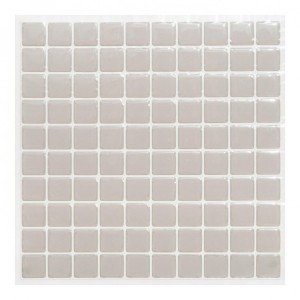Lot de 2 planches stickers Petits Carreaux Gris