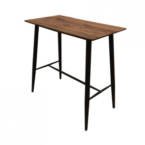 Table de bar Industria Marron