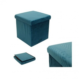 Puf  plegable Margot Azul