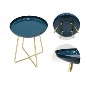 Table d'appoint Glossy Bleue