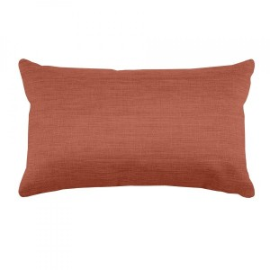 Coussin rectangulaire Béa Terracotta