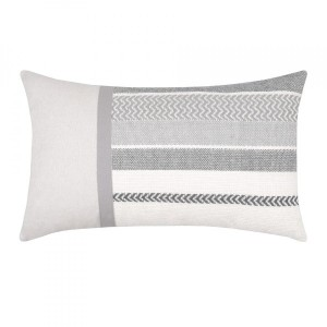 Coussin rectangulaire Avrieux Gris perle