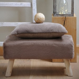 Hocker Bench Taupe