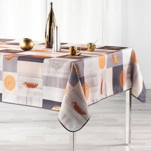 Nappe rectangulaire (L240 cm) Galio Orange
