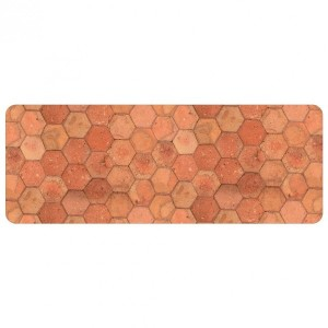 Tapis (120 cm) Tomettia Orange ocre