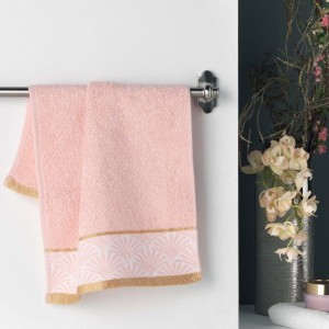Serviette de bain (30 x 50 cm) Goldy Rose
