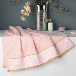 Serviette de bain (70 x 130 cm) Goldy Rose