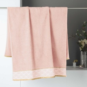 Serviette de bain (90 x 150 cm) Goldy Rose