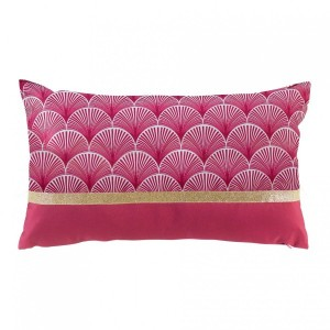 Coussin rectangulaire Duchesse Framboise