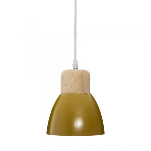 Suspension Desy Jaune ocre
