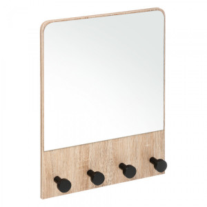 Miroir Alex Marron naturel