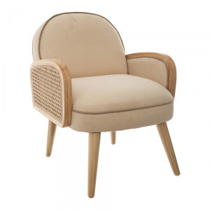 Fauteuil Canage Beige