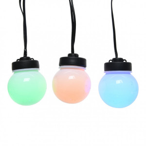 Guirlande lumineuse Party light 9,5 m - Multicolore 20 LED