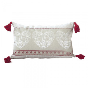 Coussin rectangulaire Alpina Rouge
